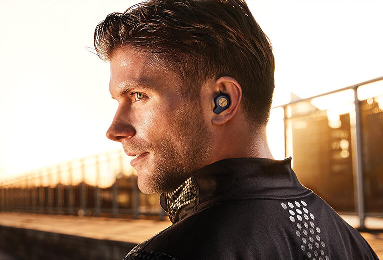 Wireless Headsets and Headphones for Office, Music & Sport