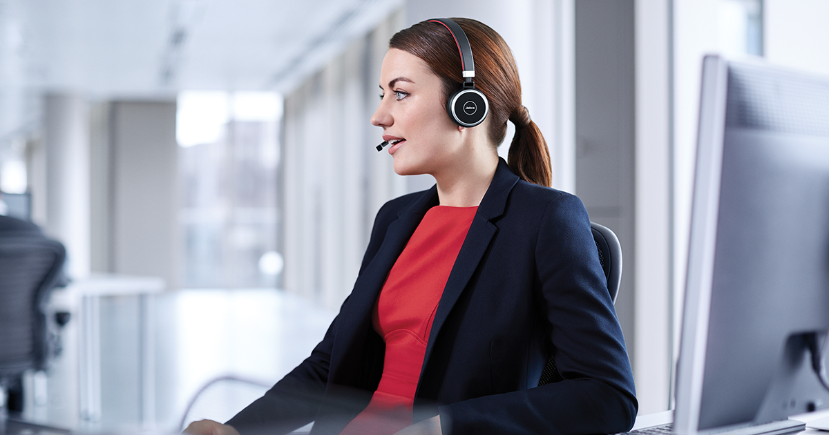 Bluetooth Office Headset With Amazing Sound Jabra Evolve 65 Ms Uc