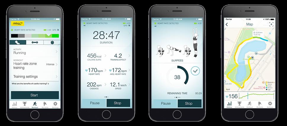 jabra sport coach wireless earbuds for training. Black Bedroom Furniture Sets. Home Design Ideas
