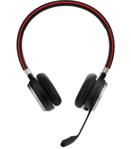 Jabra Evolve 75 Ms Duo Wireless Bluetooth Headset: Jabra EVOLVE 65 Headset With Quality Microphone