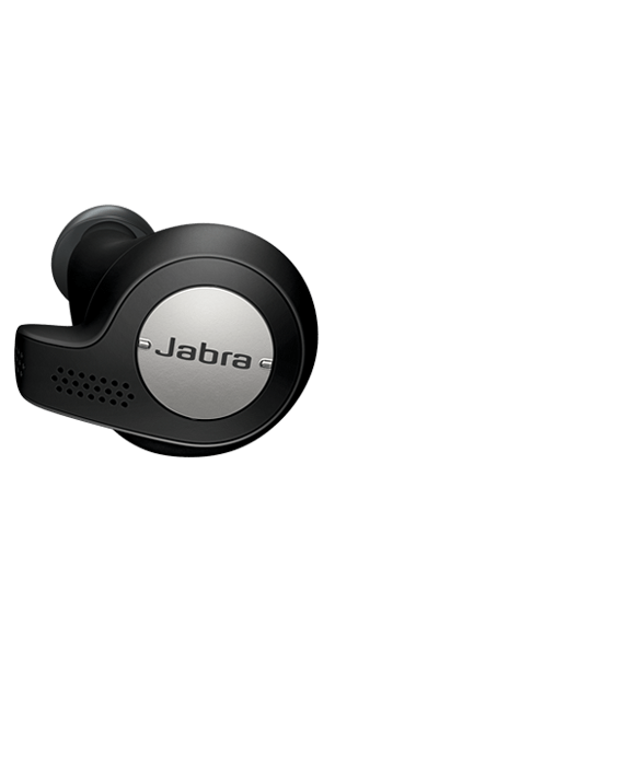 Black Jabra Elite Active 65t