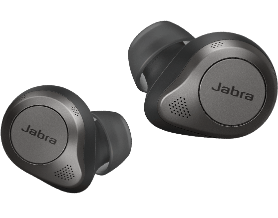 Jabra Elite 85t headphones with digital assistants