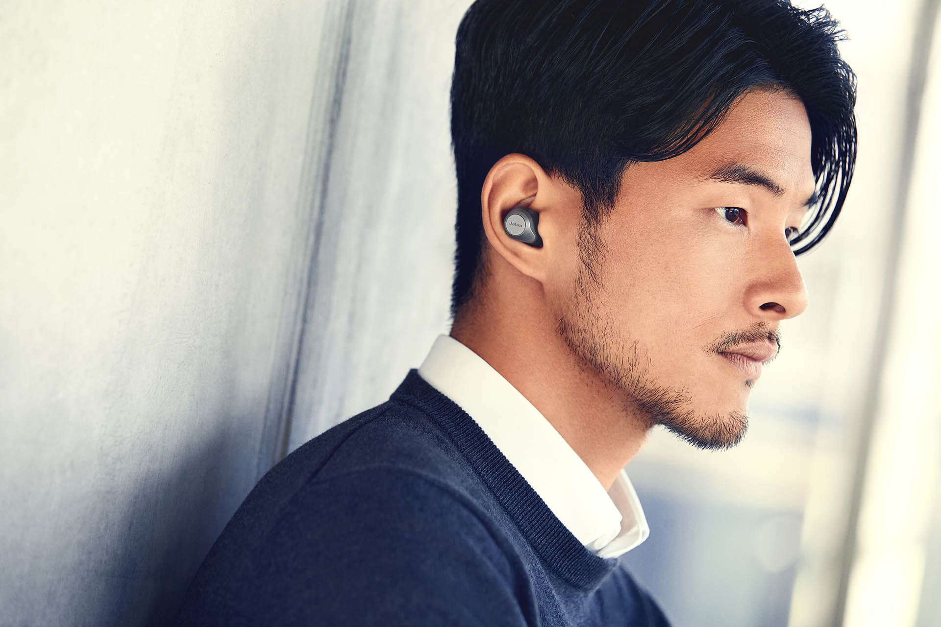 True wireless earbuds with fully adjustable ANC | Jabra Elite 85t