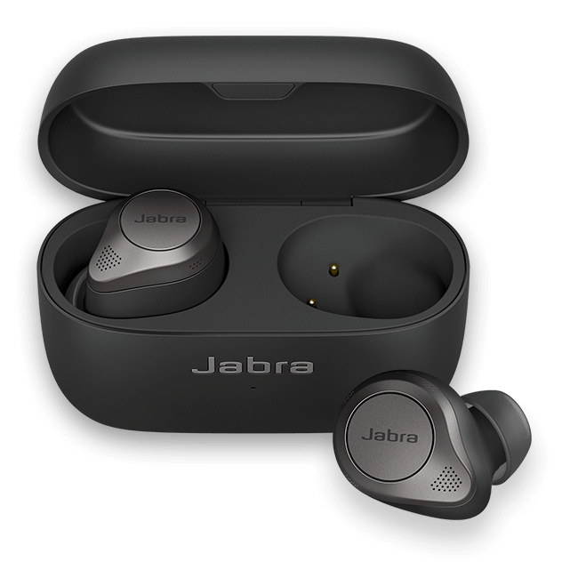 Jabra Elite 85t True wireless earbuds with Jabra Advanced ANC - Titanium Black