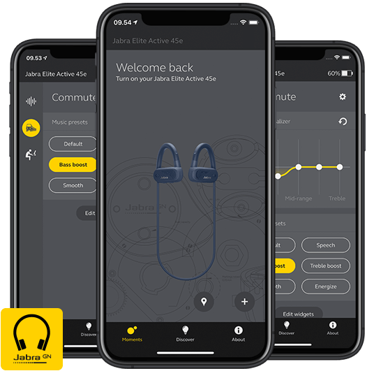 Jabra Elite Active 45e - Sound+ App
