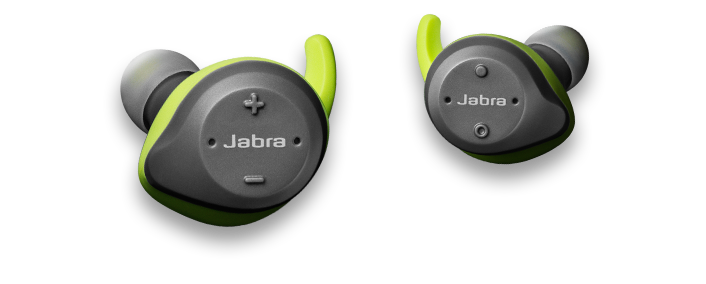 Jabra Elite Sport Lime Green Gray