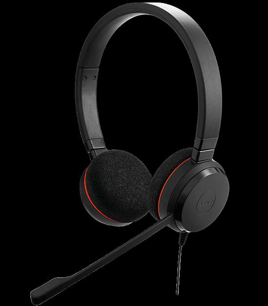 Jabra Evolve 65 Uc Mono Wireless Headset With Jabra Link: Jabra EVOLVE 20 Headset With Quality Microphone