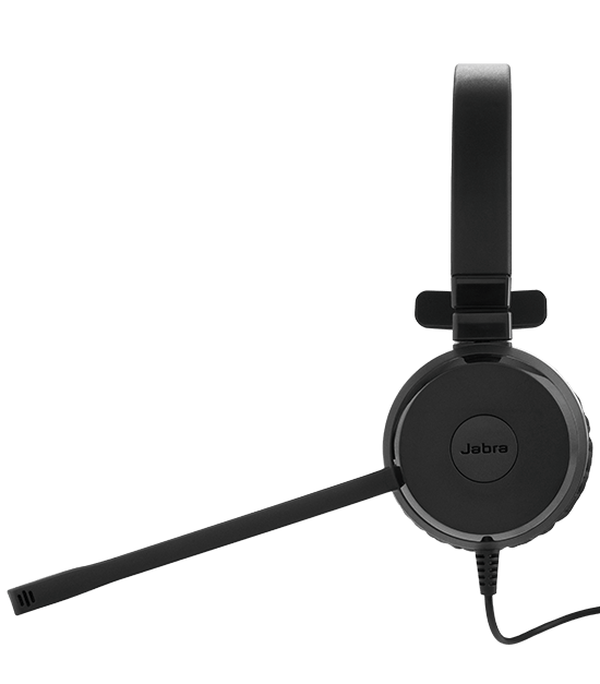 Jabra Evolve 75 Uc Duo Wireless Headset: Jabra EVOLVE 30 Headset With Quality Microphone