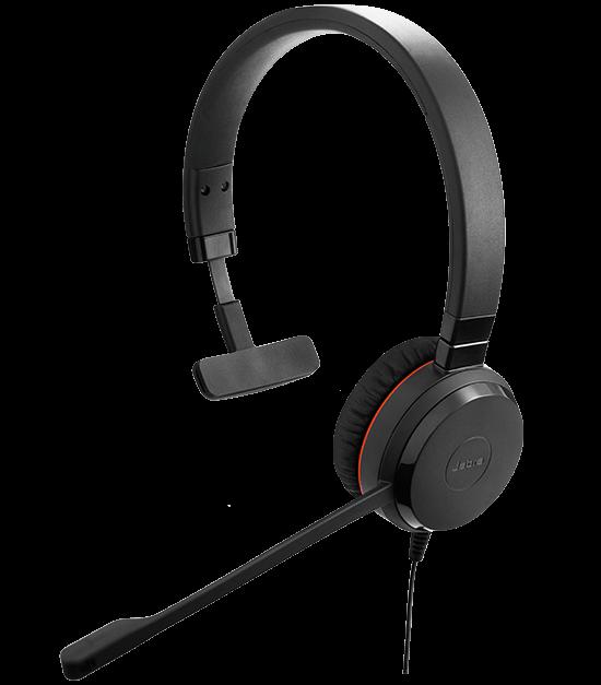 Jabra Evolve 65 Uc Mono Wireless Headset With Jabra Link: Jabra EVOLVE 30 Headset With Quality Microphone