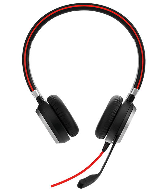 Jabra Evolve 65 Uc Mono Wireless Headset With Jabra Link: Jabra EVOLVE 40 Headset With Quality Microphone