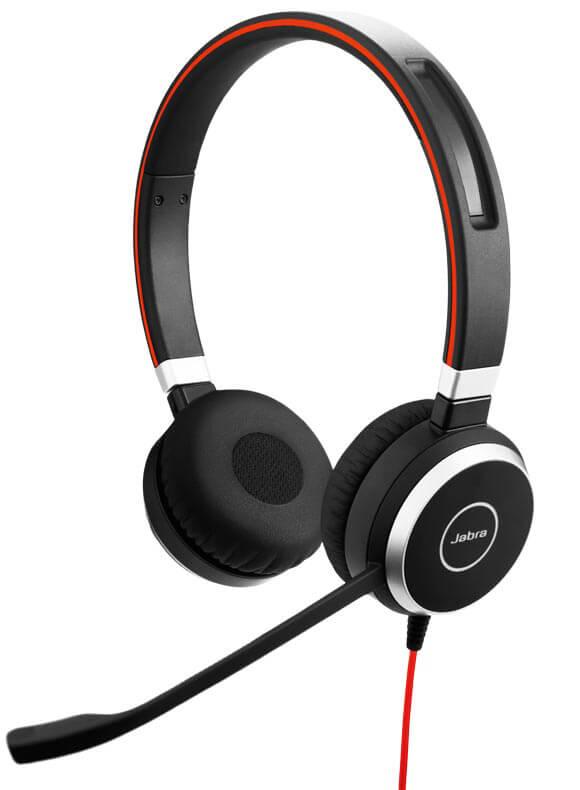 Jabra EVOLVE 40 headset with quality microphone f184f6993c