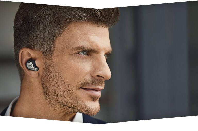 Office Uc Certified Professional True Wireless Earbuds Jabra Evolve 65t