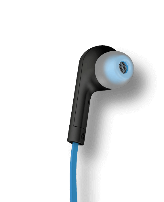 Blue Halo Smart earbud