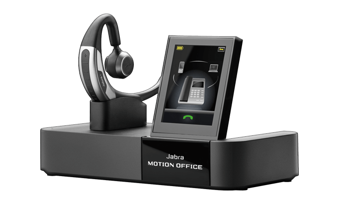 Jabra Motion Office - Touch screen base and multi-device connectivity