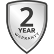 Register and get 2 years' warranty