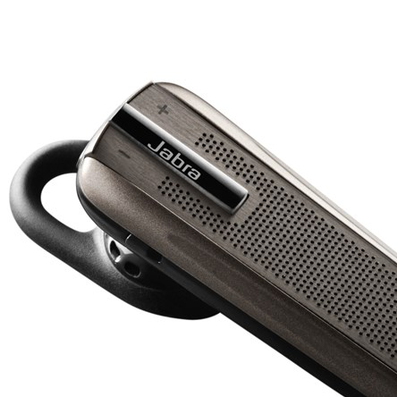 Jabra EXTREME Titanium close up of top at an angle