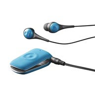 Jabra CLIPPER Turquoise with headphones