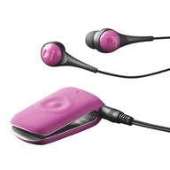 Jabra CLIPPER Pink with headphones